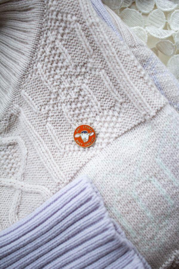 Rinnamärk Krõõt Kukkur X Woolish oranz