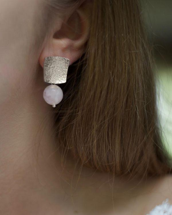 Helge Cleia hõbe kõrvarõngad