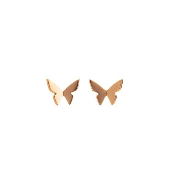 Hyrv Les Papillons Mini Kõrvarõngad Kuld