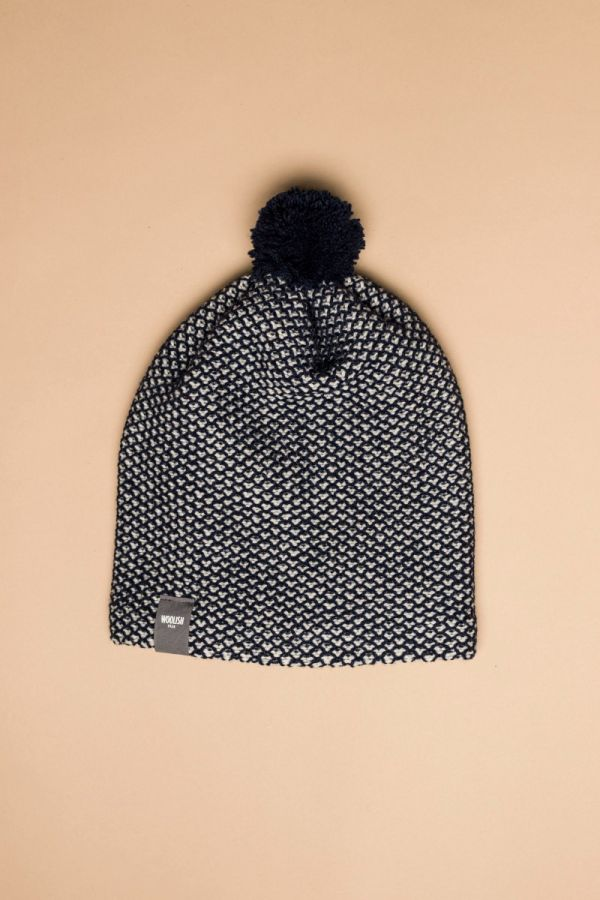 Tuk-tuk hat dark blue / white