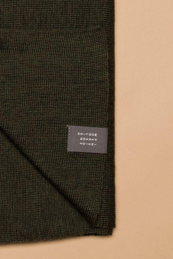 Iki scarf moss green