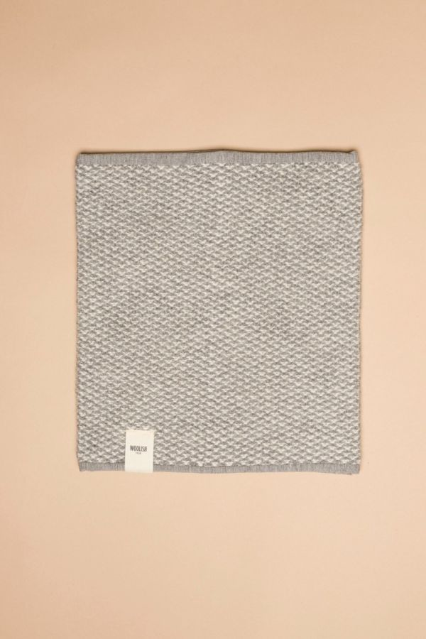 Tuk-tuk tube scarf grey / white