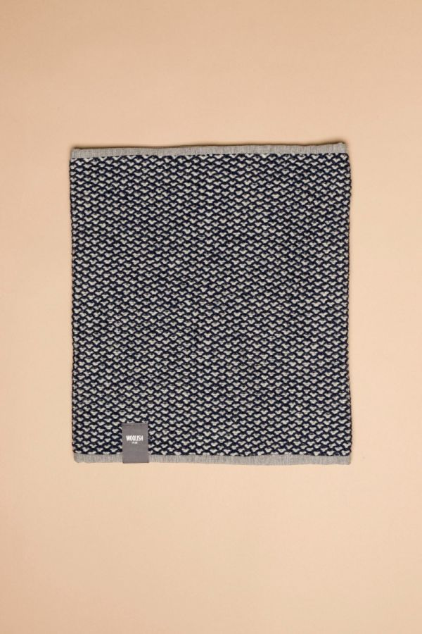 Tuk-tuk tube scarf dark blue / white