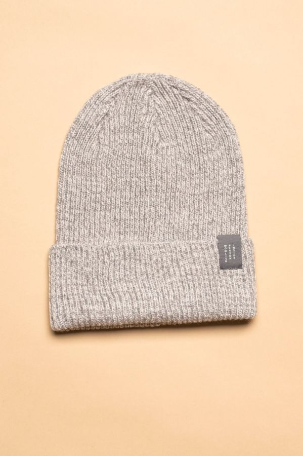 Hiro hat grey / white