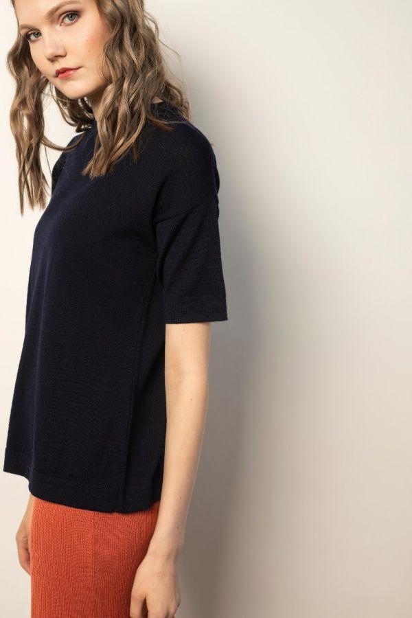 Kasumi T-shirt navy