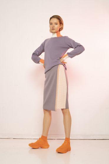 Online exclusive Keiko jumper purple