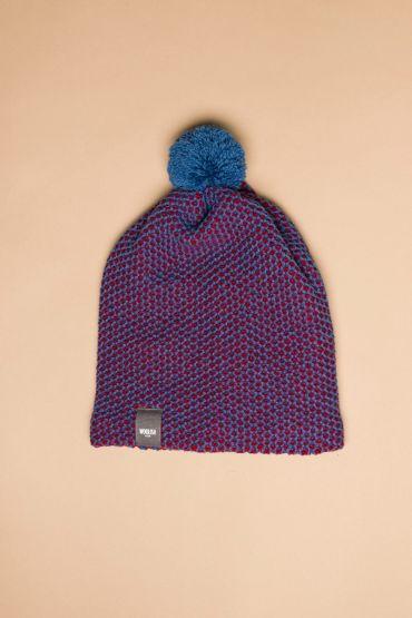Tuk-tuk müts sinine / punane