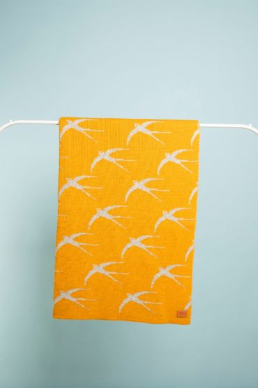 Swallow blanky yellow / grey