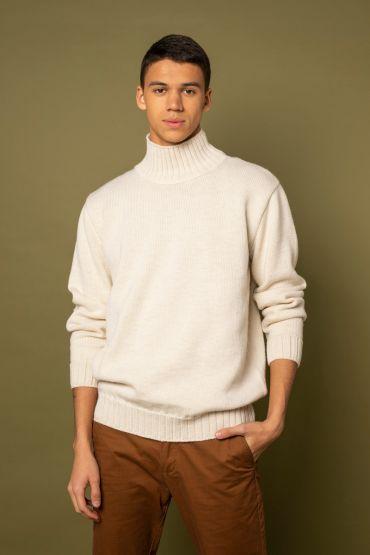 Mito sweater white