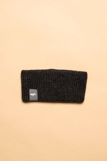 Iida headband charcoal grey