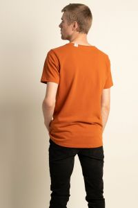 Piqué t-shirt copper