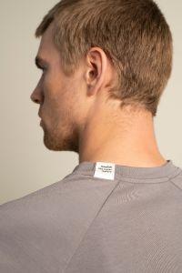Raglan t-shirt grey