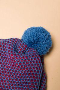 Tuk-tuk hat blue / red