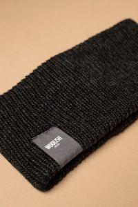 Iida headband charcoal grey