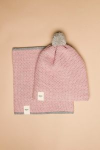 Tuk-tuk hat pink / grey